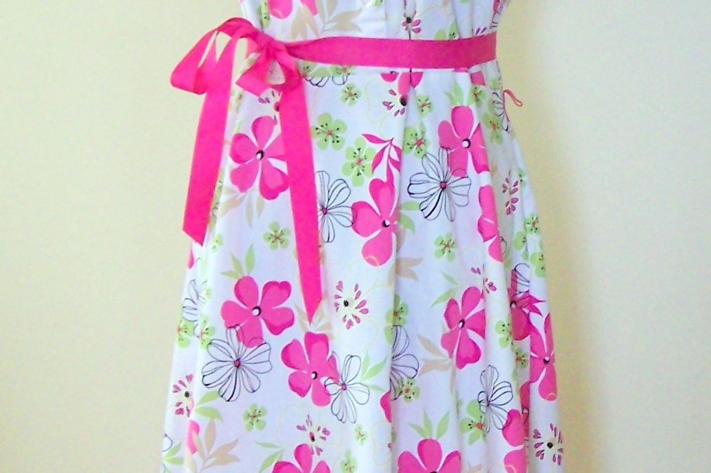 Upcycle a Dress into a Sassy Apron