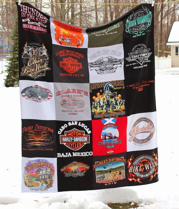 Three More Harley Blankets