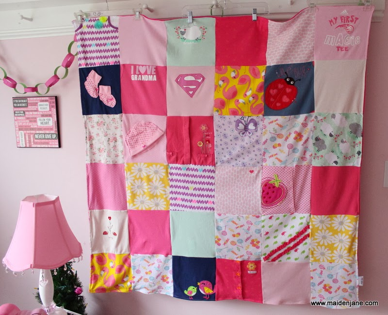 Sweet Little Baby Memory Blanket