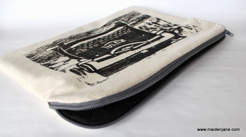 Mac Book Sleeve using Vintage Typewriter Print