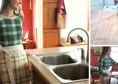 DIY PVC Apron – Keeps You Dry When Dishwashing!