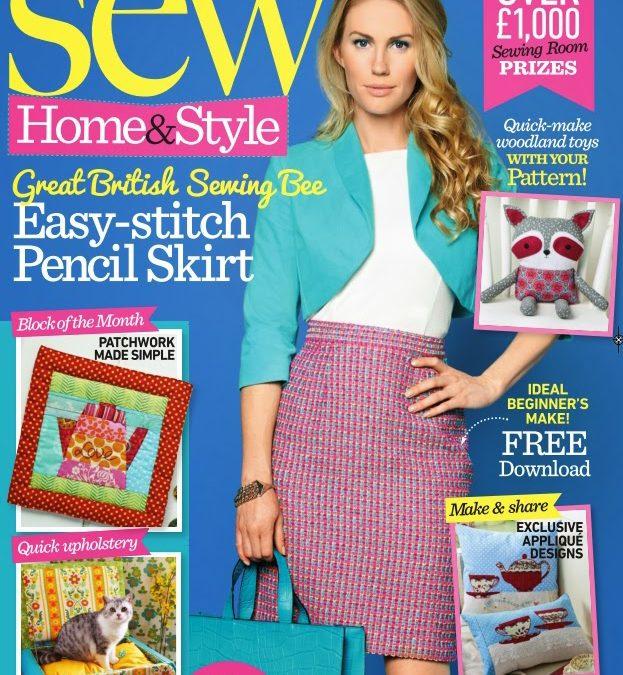 Featured in Sew Magazine!