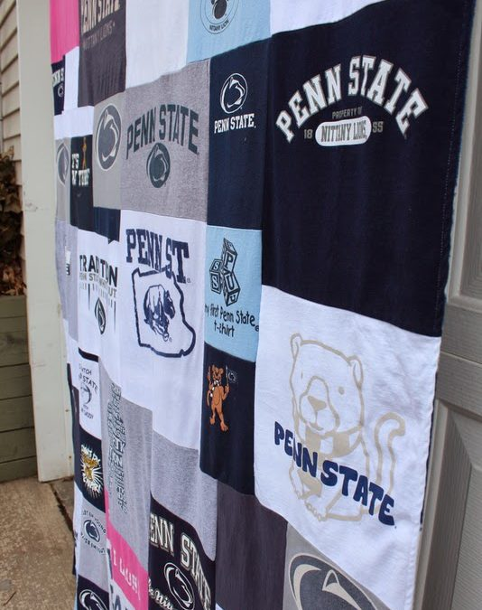 Penn State Father's Day Blanket
