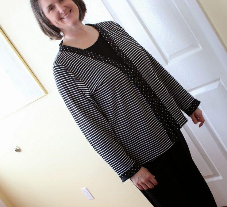 Striped Knit Cardigan Kwik Sew 2415