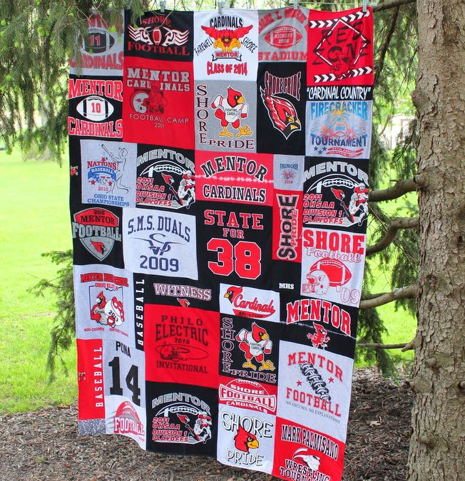 Grads and Dads Season of Blanket Making!