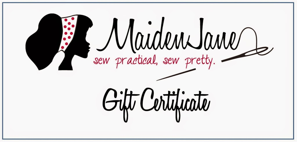 Maiden Jane Gift Certificates