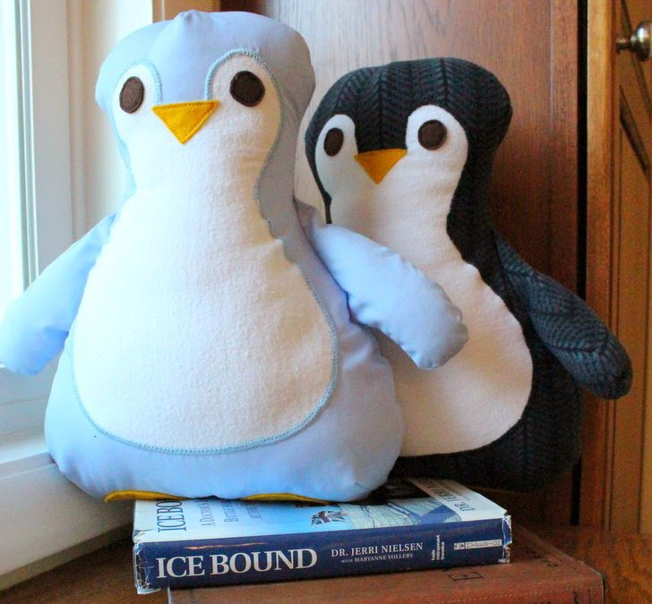 Memory Penguin Pillows