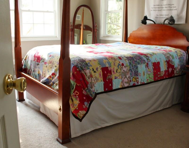Pajama Brick Memory Quilt Blanket