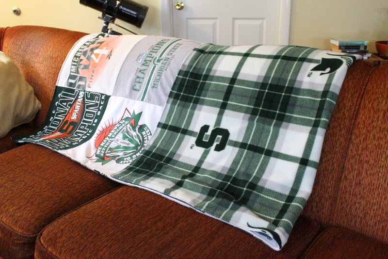 College Blanket – Michigan State