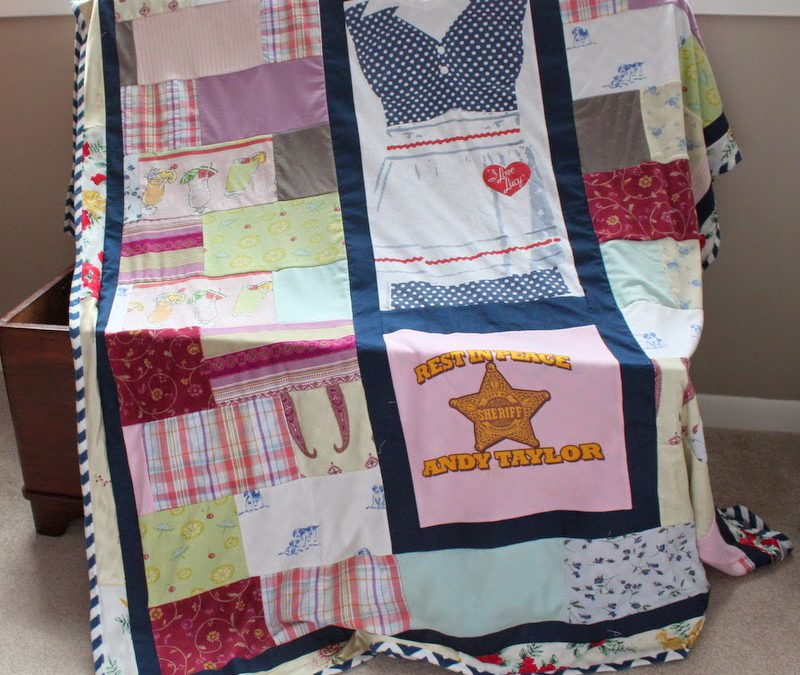 On Death and Taxes – And a Pajama Memory Quilt