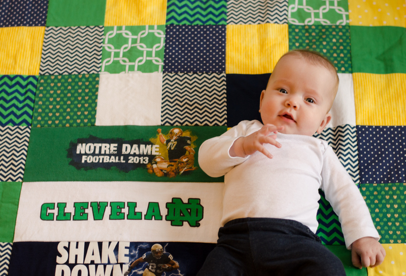 Babies, Blankets and Big-Time Sports