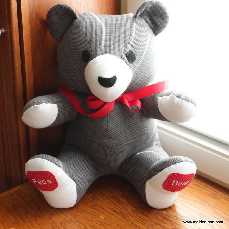 teddy bear memory shirt