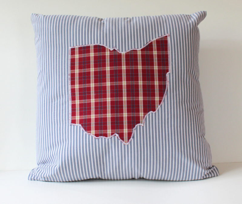 Ohio Pillows and a Gift for a College Graduate