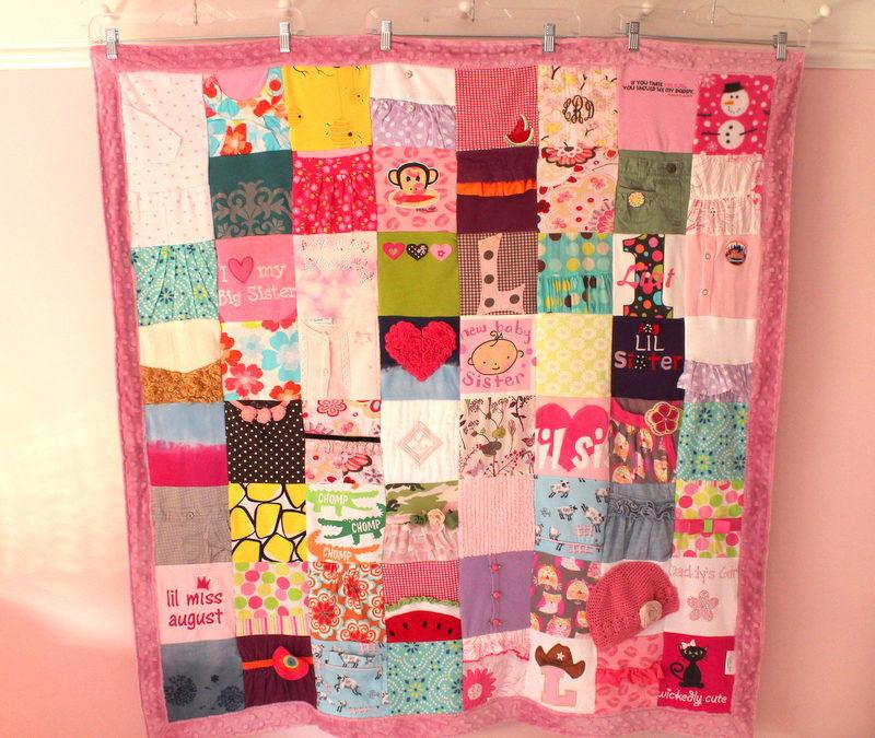 Baby Memory Blanket with 64 Blocks