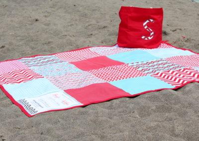 Big Beach Blanket Tutorial