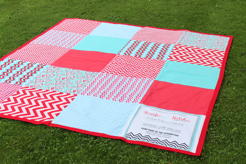 oversized beach blanket or picnic blanket