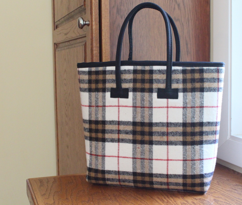Burberry Inspired Tote