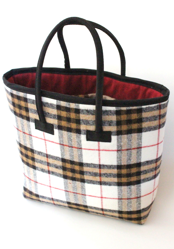 Burberry Inspired Tote Bag