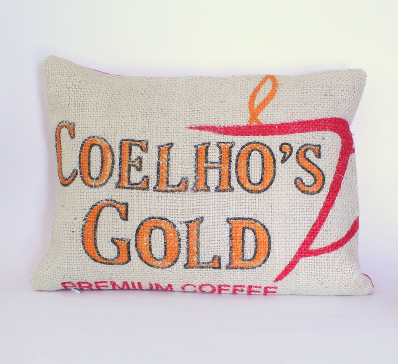 Coffee Sack Pillow Tutorial from @MaidenJane