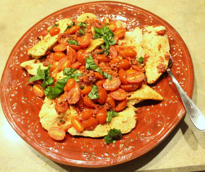 Tuscan Dinner Party Skillet Chicken