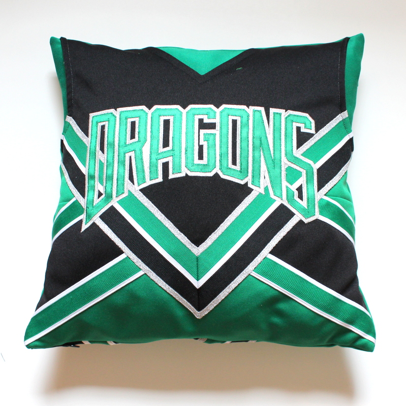 Cheerleading Memory Pillows