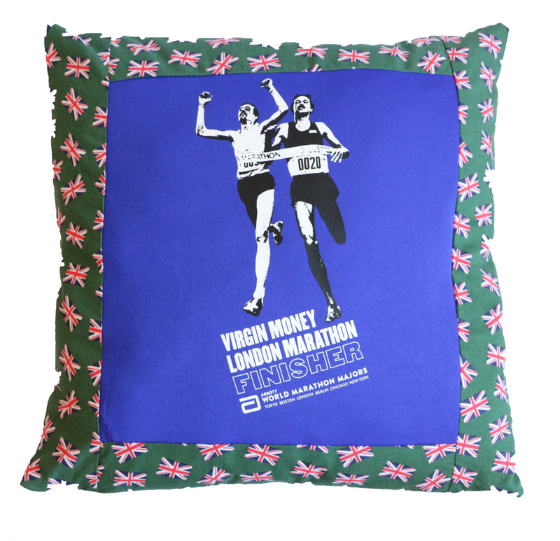 London Marathon Pillow