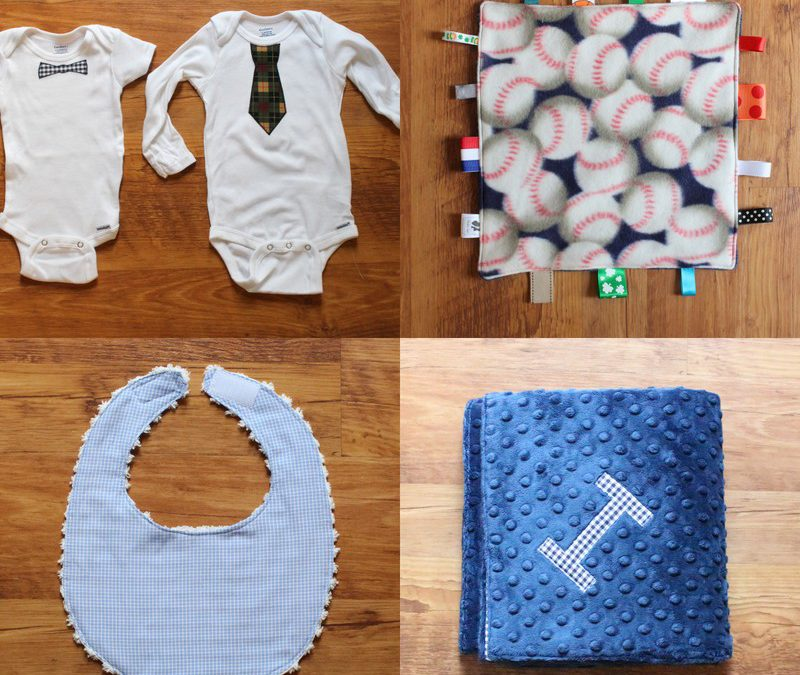 Sewing for Baby Shower Gift