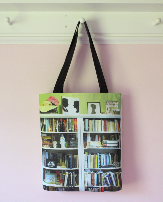 Custom Bookshelf tote