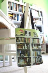 Custom Bookshelf tote