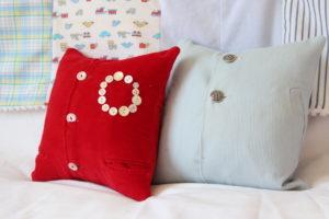 Vintage clothes keepsake pillows