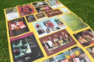 photo memory quilt blanket