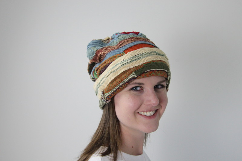 Coogi Upcycled Hat, Wine Tote and Pillow
