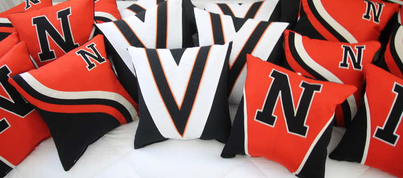 Marching Band Pillows and Choir Robe Pillows