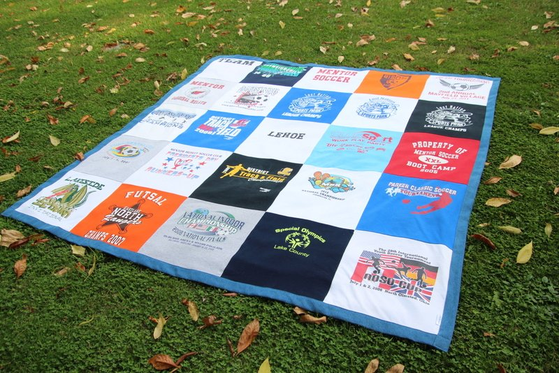 A T Shirt Beach Blanket