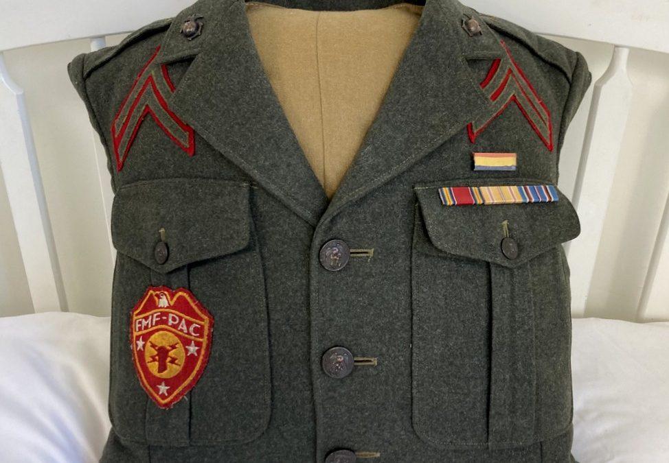Marine Uniform Upcycle