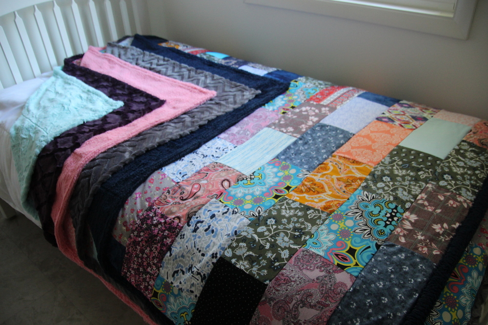 Options for Quilt Backing Fabrics